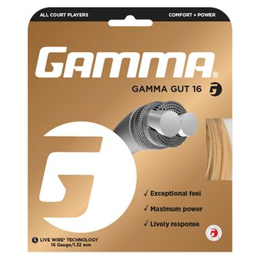 Gamma Gut 16G Tennis String