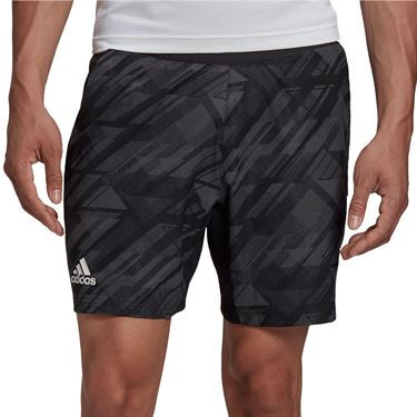 adidas Printed 7 inch Short Mens Black GG3739