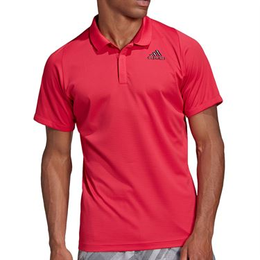 adidas Freelift Polo Shirt Mens Power Pink GG3749