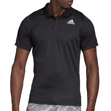 adidas Freelift Polo Shirt Mens Black GG3750
