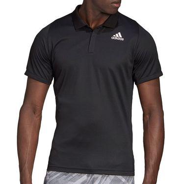 adidas Freelift Polo Shirt Mens Black GG3750