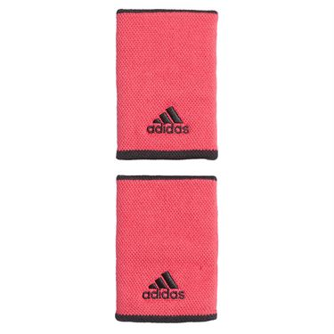 adidas Tennis Large Wristband - Power Pink/White