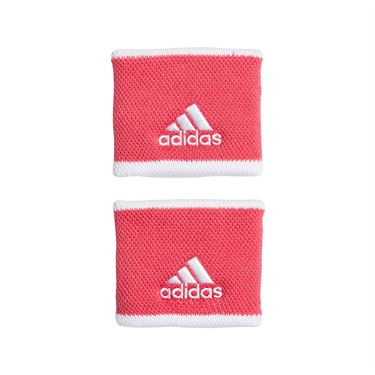 adidas Tennis Small Wristband - Grey Six/White