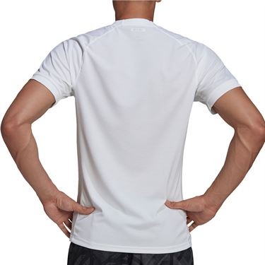 adidas Freelift Solid Crew Shirt Mens White GH4569