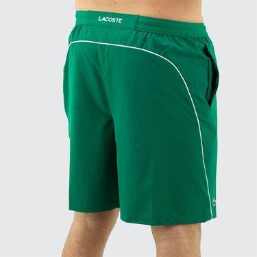 Lacoste Novak Djokovic Semi Fancy Short Mens Yucca/White GH4781 4YA