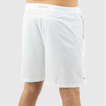 Lacoste Novak Djokovic Semi Fancy Short Mens White GH4781 800