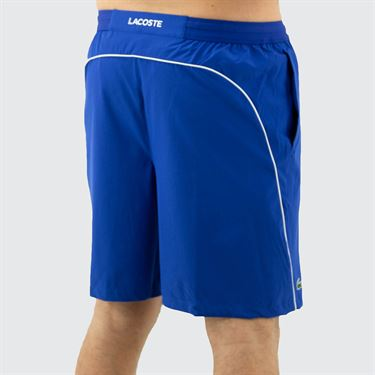 Lacoste Novak Djokovic Semi Fancy Short Mens Royal Blue/White GH4781 CSV