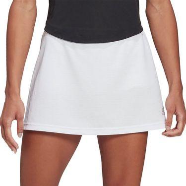 adidas Club Skirt Womens White/Grey Two GH7221