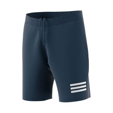 adidas Club 3 Stripe Short Mens Crew Navy/White GH7225