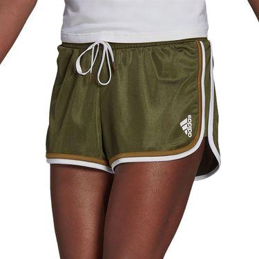 adidas Club Short Womens Wild Pine/White GH7232