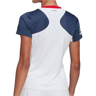 adidas Club Tee Shirt Womens White GH7236