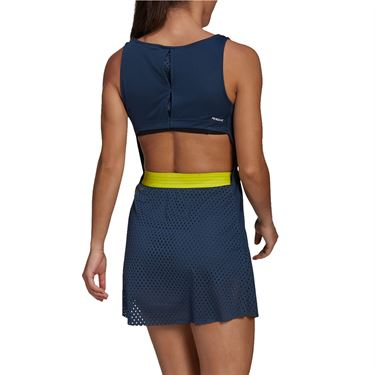 adidas Dress Womens Crew Navy/Acid Yellow GH7599