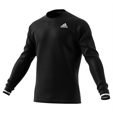 adidas Freelift Long Sleeve Tee Shirt Mens Black GH7605