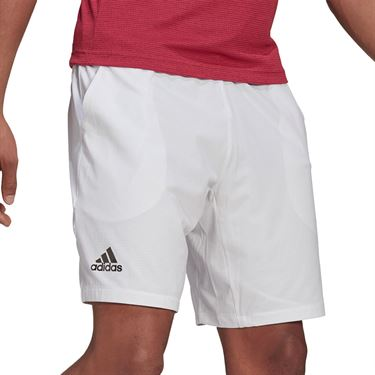 Adidas Ergo 7 inch Short Mens White/Black GH7609
