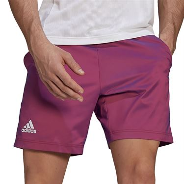 adidas Ergo 7 inch Short Mens Scarlet/Semi Night Flash GH7694
