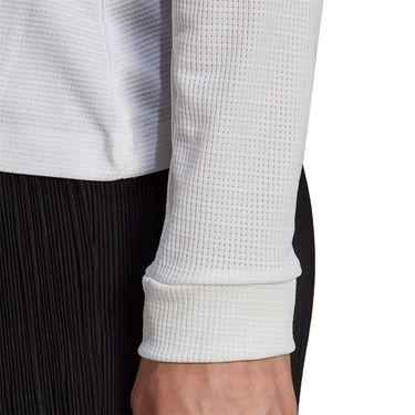 adidas Heat Ready Long Sleeve Shrug Top