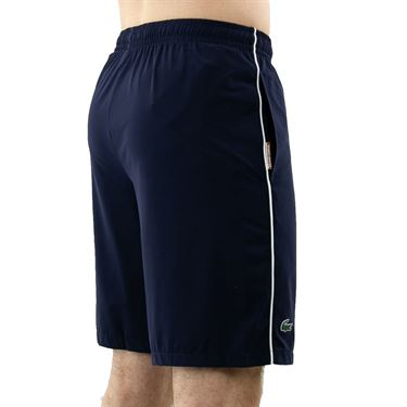 Lacoste Roland Garros Short Mens Navy Blue/White GH9384 R20