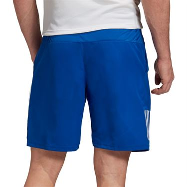 adidas Club 3-Stripes 9-Inch Shorts Mens Royal Blue GI9287
