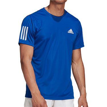 adidas 3-Stripes Club Tee Team Mens Royal Blue GI9288