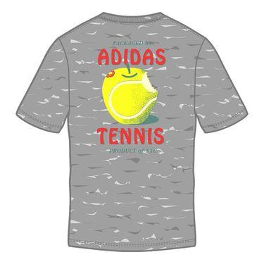 Adidas NYC Big Apple Tee Mens White/Tennis Ball Apple GK6037