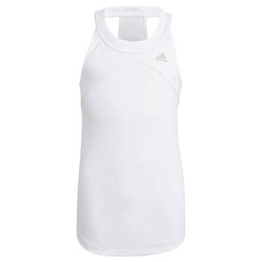 adidas Girls Club Tank White/Grey Two GK8166
