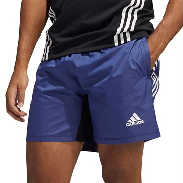 adidas Primeblue Short Mens Semi Night Flash Melange GL0430