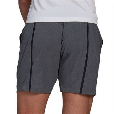 adidas Ergo 9 inch Short Mens Dark Grey Heather/White GL5398