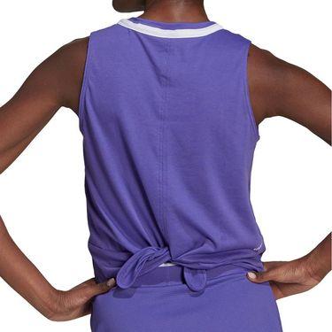 adidas Club Knot Tank Womens Purple/ White GL5465