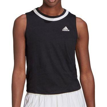 adidas Club Knot Tank Womens Black/White GL5467