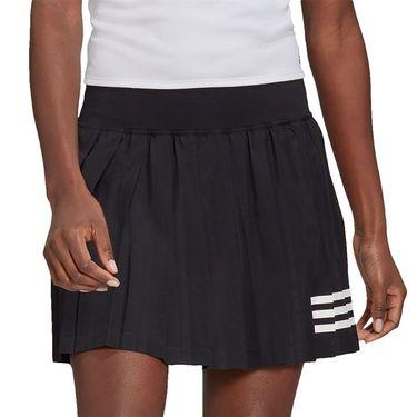 adidas Club Pleat Skirt Womens Black/White GL5468