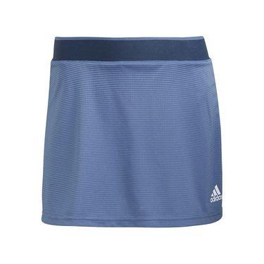 adidas Club Skirt Womens Crew Blue/White GL5495