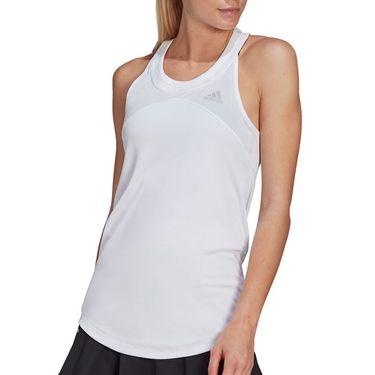 adidas Club Tank Womens White/Grey Two GL5520