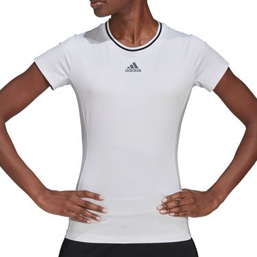 adidas Freelift Top Womens White/Black GL6207