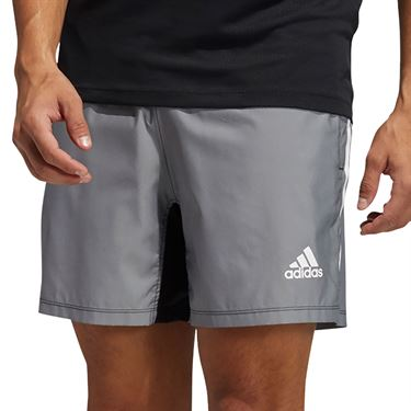 adidas Primeblue Short Mens Black Melange GM0478