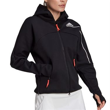 adidas Zne Hooded Jacket Womens Black GM5331