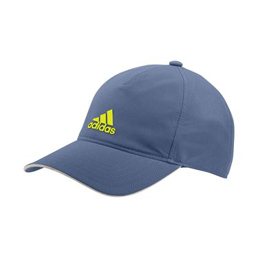 adidas Tennis 4AT Aeroready Hat - Clue/Acid Yellow/Alumina