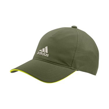 adidas Tennis 4AT Aeroready Hat - Wild Pine/Alumina/Acid Yellow