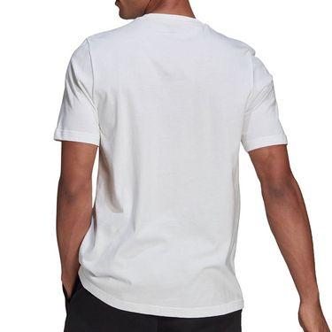 adidas Hacked Logo Tee Shirt Mens White GN6844