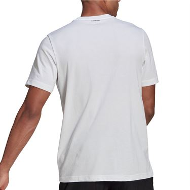 adidas Tee Shirt Mens White GN8058