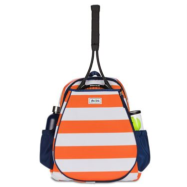 Ame and Lulu Game On Orange Tennis Backpack
