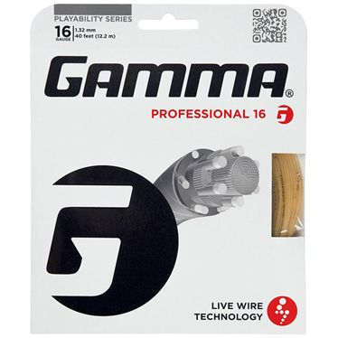 Gamma Live Wire Professional Spin 16G Tennis String