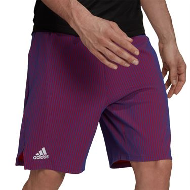 adidas Short Mens Semi Night Flash/Scarlet GQ8926