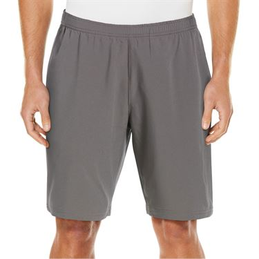 Grand Slam 9 inch Athletic Short Mens Quiet Shade/Caviar GSBSA0F6 084