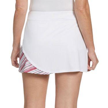 Grand Slam Tennis Fashion Skirt Womens Brilliant White/Very Berry Stripe GSKBSAE6 110