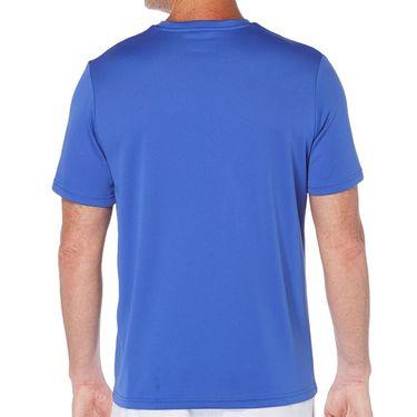 Grand Slam Tennis Crew Shirt Mens Dark Dazzling Blue GSKSA0H2 973