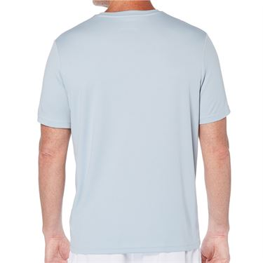 Grand Slam Stitch Effect Crew Shirt Mens Blue Fog GSKSA0H3 049