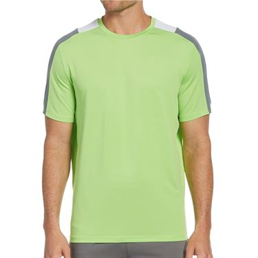 Grand Slam 3 Color Active Block Shirt Mens Kohl Rabi GSKSA0H4 334