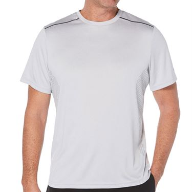 Grand Slam Tennis Crew Shirt Mens Grey Dawn Heather GSKSA0H5 062