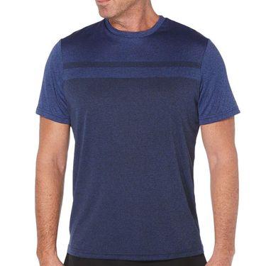 Grand Slam Tennis Shirt Mens Dark Dazzling Blue GSKSA0H6 422