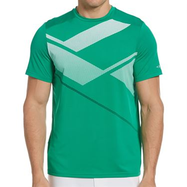Grand Slam Graphic Crew Shirt Mens Tennis Court GSKSB049 365